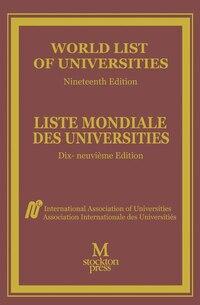 World List Of Universities / Liste Mondiale Des Universites