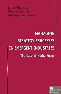 Managing Strategy Processes In Emergent Industries: The Case Of Media Firms