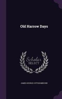 Old Harrow Days
