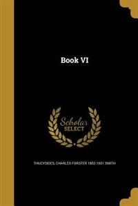 Book VI by Thucydides
