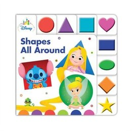 Book Disney Baby Shapes All Around by Disney Book Group