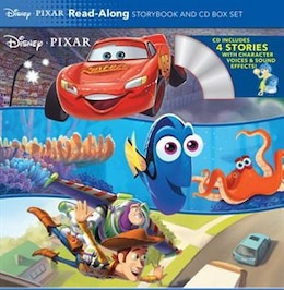 Book Disney*pixar Read-along Storybook And Cd Box Set by Disney Book Group
