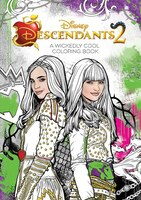 Descendants 2 A Wickedly Cool Coloring Book: Wicked Images To Inspire Creativity