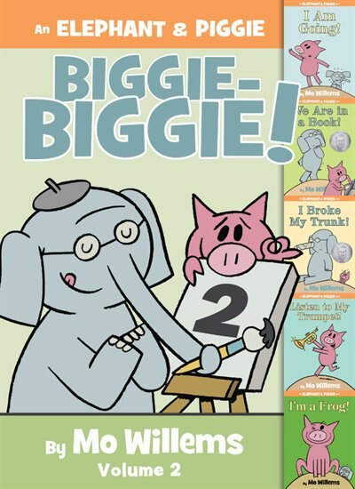 An Elephant & Piggie Biggie Volume 2! by Mo Willems
