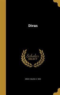 Divan by Halim d. 1823 Giray