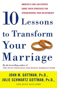 Ten Lessons to Transform Your Marriage: America's Love Lab Experts Share Their Strategies For…