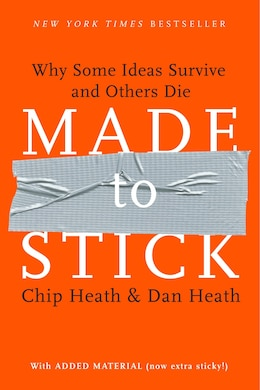 Book Made to Stick: Why Some Ideas Survive and Others Die by Chip Heath
