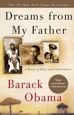 Book Dreams From My Father: A Story Of Race And Inheritance by Barack Obama