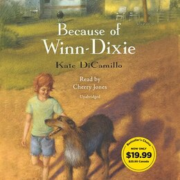Book Because Of Winn-dixie by Kate DiCamillo