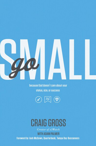 Go Small: Because God Doesn't Care About Your Status, Size, Or Success by Craig Gross