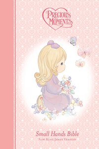 Precious Moments Holy Bible - Pink NKJV