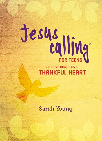 Jesus Calling: 50 Devotions For A Thankful Heart by Sarah Young