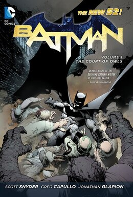 Book Batman Vol. 1: The Court Of Owls (the New 52) by Scott Snyder
