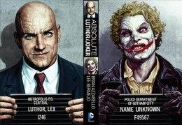 Book Absolute Joker/luthor by Brian Azzarello