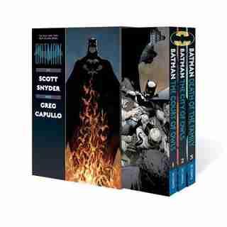Batman By Scott Snyder & Greg Capullo Box Set by Scott Snyder