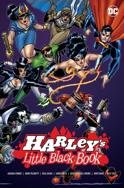 Harley's Little Black Book by Amanda Conner