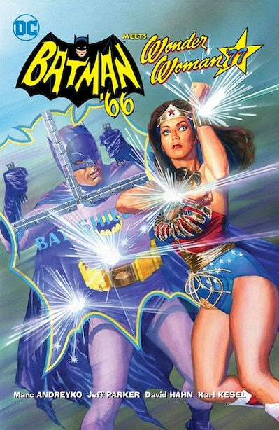 Batman '66 Meets Wonder Woman '77 by Jeff Parker