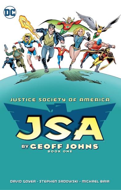 Jsa By Geoff Johns Book One by Geoff Johns