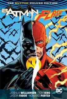 Batman/the Flash: The Button Deluxe Edition by Tom King