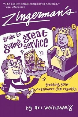 Book Zingerman's Guide To Giving Great Service by Ari Weinzweig