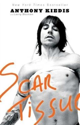 Book Scar Tissue by Anthony Kiedis