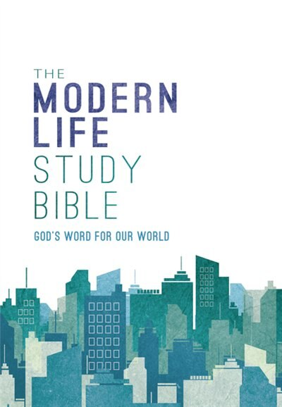 Nkjv, The Modern Life Study Bible, Hardcover: God's Word For Our World by Thomas Nelson