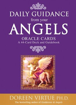 Book Daily Guidance from your Angels Oracle Cards: 44 Cards Plus Booklet by Doreen Virtue