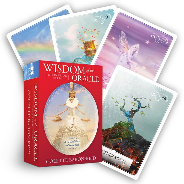 Wisdom Of The Oracle Divination Cards: Ask And Know by Colette Baron-reid