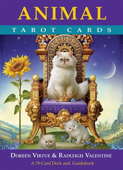 Animal Tarot Cards: A 78-card Deck And Guidebook by Doreen Virtue