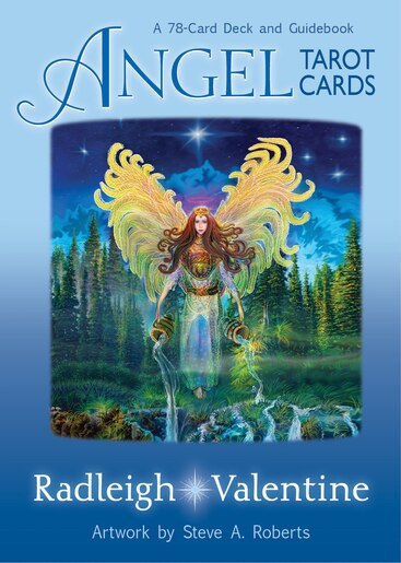 Angel Tarot Cards: A 78-card Deck And Guidebook by Radleigh Valentine