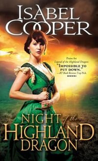 Book Night Of The Highland Dragon by Isabel Cooper