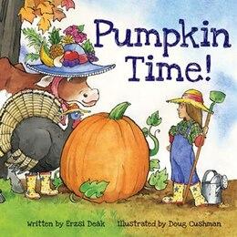 Book Pumpkin Time! by Erzsi Deak