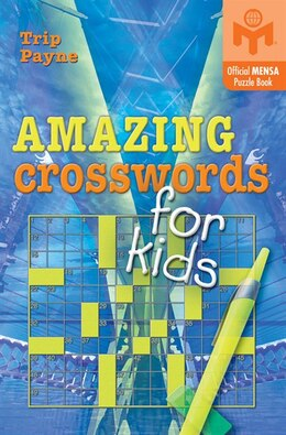 Book Amazing Crosswords for Kids by Trip Payne