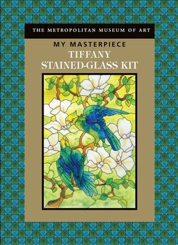 Book My Masterpiece: Tiffany Stained-Glass Kit by Museum Metropolitan
