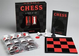 Book Chess: A Pop-Up Set by Sterling