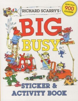 Book Richard Scarry's Big Busy Sticker & Activity Book by Richard Scarry