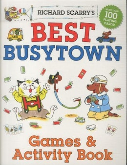 Book Richard Scarry's Best Busytown Games & Activity Book by Richard Scarry