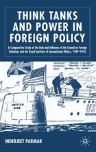 Think Tanks And Power In Foreign Policy: A Comparative Study of the Role and Influence of the…