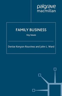 Family Business Key Issues: Key Issues