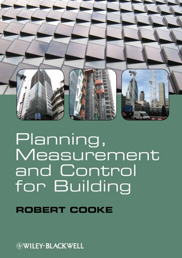 b0eb1a78a05 Planning, Measurement and Control for Building, Book by Robert Cooke ...