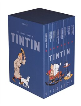 Book Adventures of Tintin Complete Slipcase by Herge