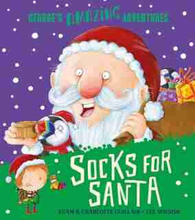 Socks For Santa by Adam Guillain