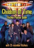Doctor Who Children Of Time Sticker Poster Book