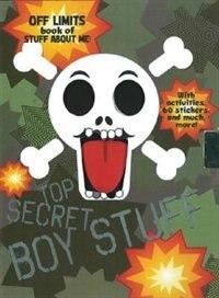 Book Top Secret Boy Stuff by Parragon Books