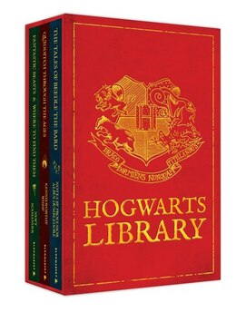 Book The Hogwarts Library Boxed Set Including Fantastic Beasts & Where To Find Them by J.k. Rowling