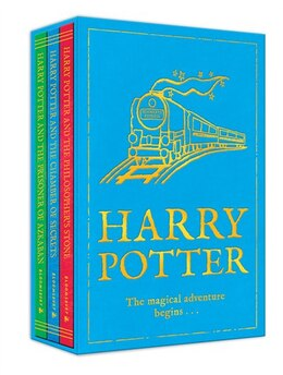 Book Harry Potter: The Magical Adventure Begins . . .: Volumes 1-3 by J.k. Rowling
