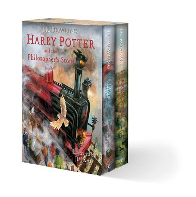 Harry Potter Illustrated Box Set by J.K. Rowling
