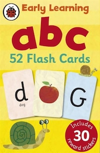 Early Learning Abc 52 Flash Cards