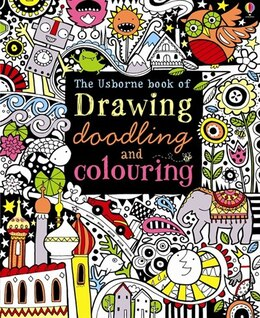 Book Drawing Doodling And Colouring Book by Fiona Watt