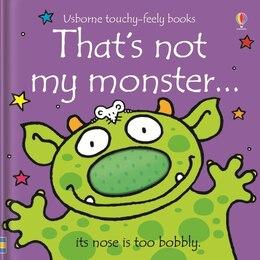 Book That's Not My Monster by Fiona Watt
